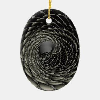 draak schalen 2017 keramisch ovaal ornament