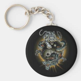 draak/tijger/ying yang sleutelhanger