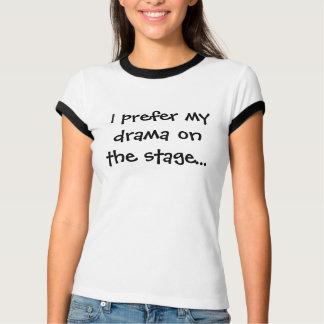 Drama op stadium t shirt