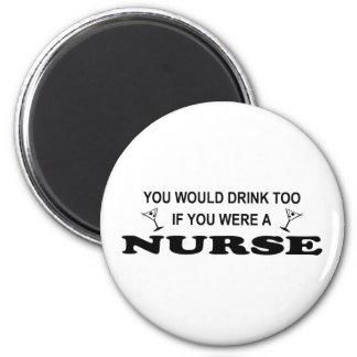 Drank ook - Verpleegster Magneet