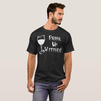 Drank op Heksen! Het grappige Overhemd van de Heks T Shirt