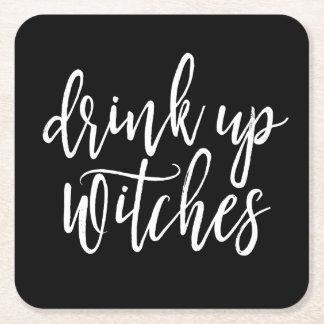 Drank op Heksen Vierkante Onderzetter