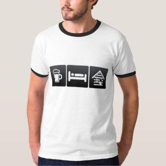 Drank, Slaap en Cabines T Shirt