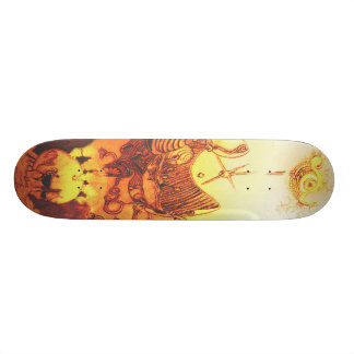 Drawn 20,6 Cm Skateboard Deck