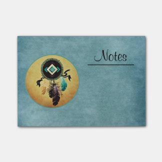 Dreamcatcher op een Blauwe Achtergrond Post-it® Notes