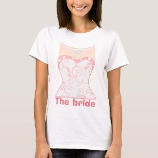 Drees van de bruid t shirt