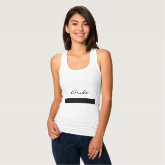 Dress-Up_Pinstripe-Tank-Tops_Bride (c) Blk/Wit Tanktop