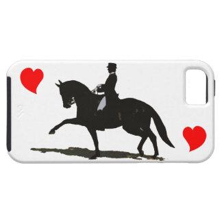 Dressuur - iPhone 5 van het Paard en van de Ruiter Tough iPhone 5 Hoesje