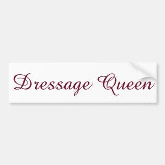 Dressuur Koningin Bumper Sticker