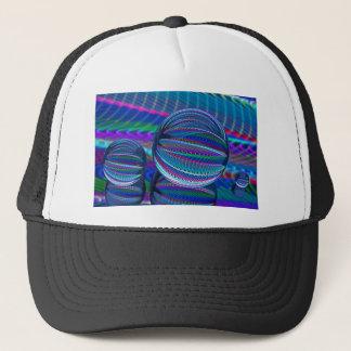 Drie ballen van het Glas in kleur Trucker Pet