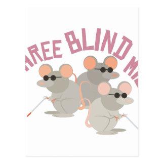 Drie Blinde Muizen Briefkaart