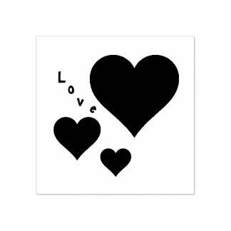 Drie Harten en de Zoete Valentijnskaarten van de Rubberenstempel