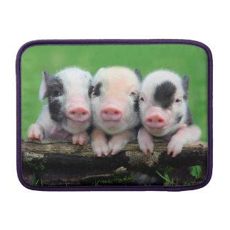 Drie kleine varkens - leuk varken - drie varkens MacBook sleeve