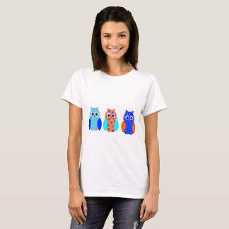 Drie Leuke Uilen T Shirt