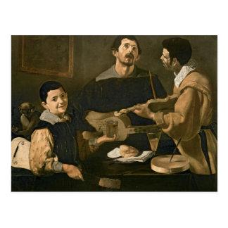 Drie Musici, 1618 Briefkaart