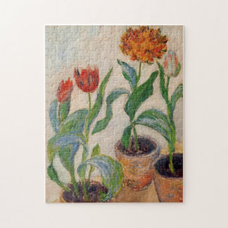 Drie Potten van het Fijne Art. van Monet van Puzzel