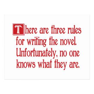 Drie Regels Briefkaart