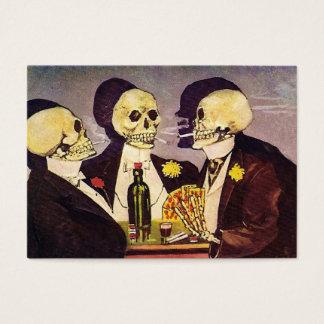 Drie Skeletten Visitekaartjes