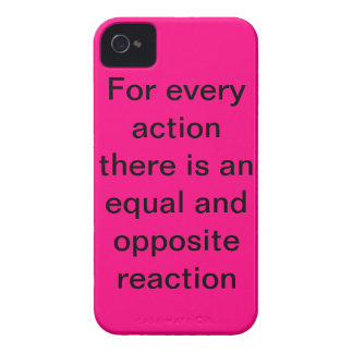 drie wetten van motie iPhone 4 hoesje