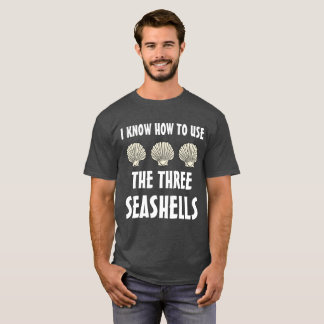 Drie Zeeschelpen Meme T Shirt