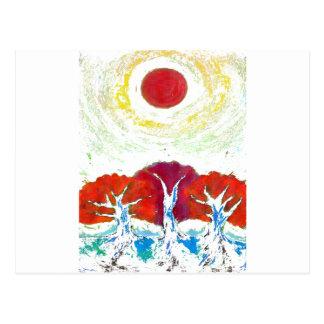Drie Zonnen Briefkaart