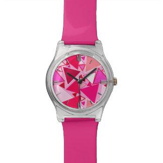 Driehoeken, het Roze en Bourgondië van het midden Horloge