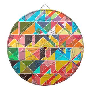 Driehoekig Abstract Ontwerp Dartbord