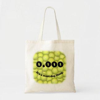 Drievoud Nul, 0.000, het Bolsa van de Begroting Draagtas