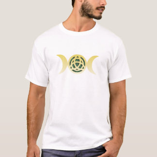 Drievoudige Maan Triquetra T Shirt