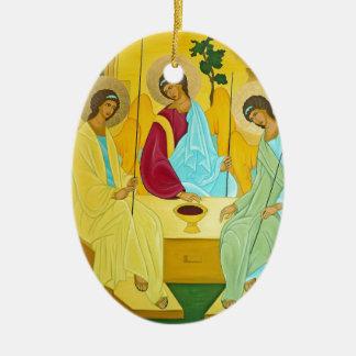 Drievuldigheid Keramisch Ovaal Ornament