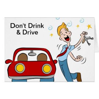 Drink niet en drijf kaart