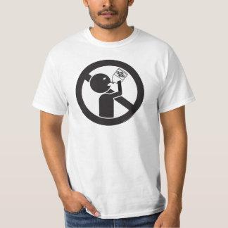 Drink niet het Bleekmiddel T Shirt