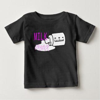Drinke melk baby t shirts