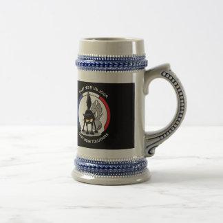Drinkkan aan bier, naar het voorbeeld van de bierpul