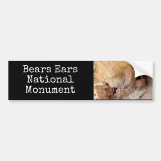 Droegen het Nationale Monument van Oren Bumpersticker