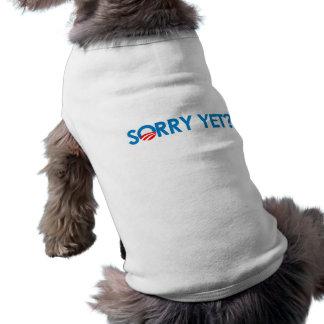 Droevige anti-Obama - nog T-shirt