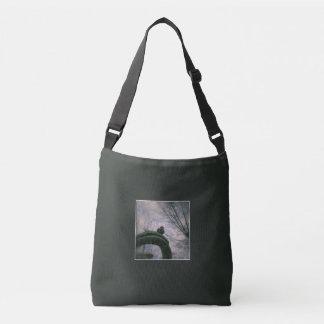 Droevige duif crossbody tas