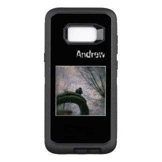 Droevige duif OtterBox defender samsung galaxy s8+ hoesje