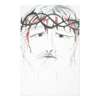 Droevige God Briefpapier