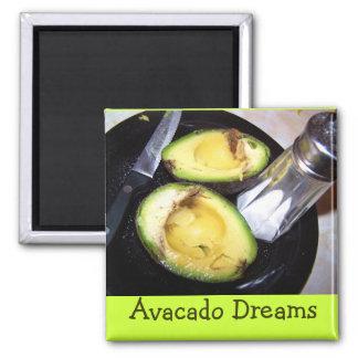 dromen magneet-Avacado Magneet