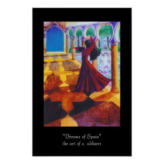 Dromen van Spanje Poster