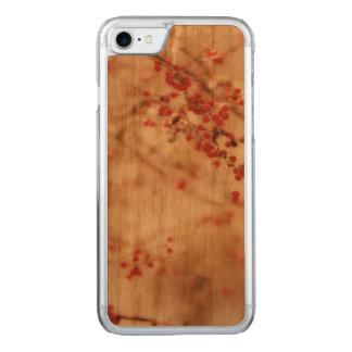 Dromerige Rode Artisanale Bessen Wintergarden Carved iPhone 8/7 Hoesje