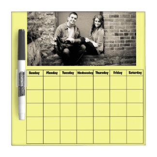 Droog wis de Kalender van de Raad Whiteboard