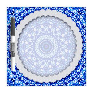 Droog wis de Stijl van Mandala Mehndi van de Raad Whiteboard
