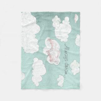 Droom… altijd fleece deken
