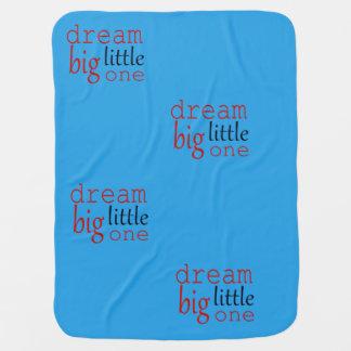 Droom grote kleine deken kinderwagen dekentjes