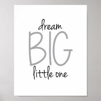 Droom Grote Kleine Druk Poster