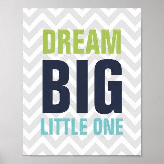 Droom Grote Kleine Kinderdagverblijf Poster
