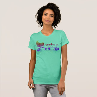 Drucifer, staven en karbonades, damest-shirt t shirt