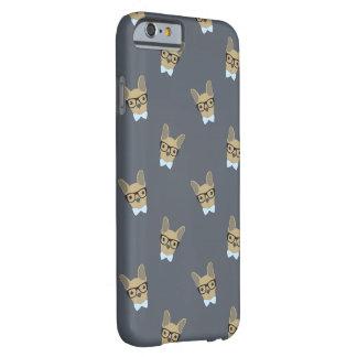 Druk van de Buldog van de jongen de Franse Barely There iPhone 6 Hoesje